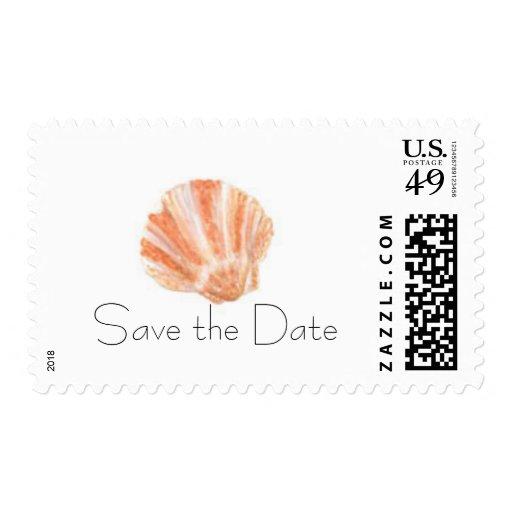 El mar Shell, ahorra la fecha Sellos