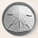 El mar Shell del dólar de arena vara el práctico d Posavasos Diseño