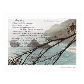 El mar tarjetas postales