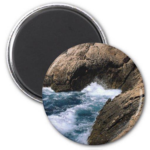 """El mar y las rocas, les """"Calanques"""", Marsella, fra Imán De Frigorífico"""