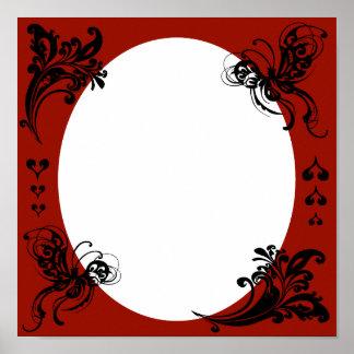 El marco de la tarjeta del día de San Valentín per Impresiones