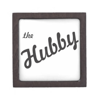 El marido caja de regalo de calidad