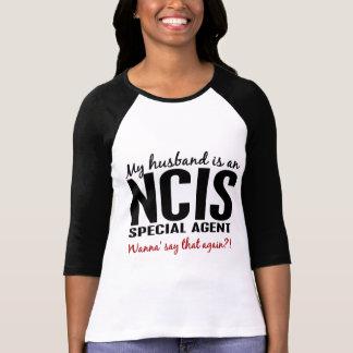 El marido es un agente de NCIS Playera