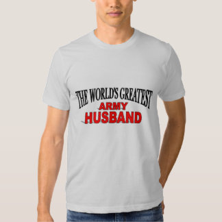 El marido más grande del ejército del mundo playera