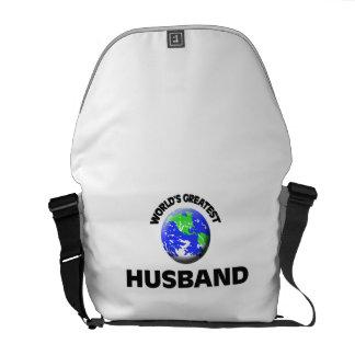 El marido más grande del mundo bolsa messenger