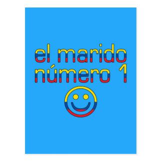 El Marido Número 1 - Number 1 Husband Ecuadorian Postcard