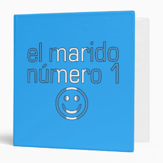 El Marido Número 1 - Number 1 Husband Guatemalan 3 Ring Binder