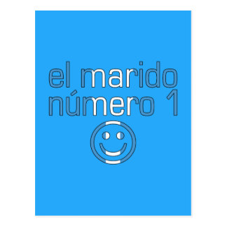 El Marido Número 1 - Number 1 Husband Guatemalan Postcard