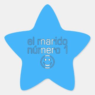El Marido Número 1 - Number 1 Husband Guatemalan Star Sticker