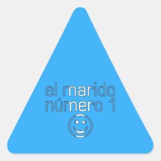 El Marido Número 1 - Number 1 Husband Guatemalan Triangle Sticker