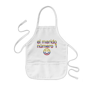 El Marido Número 1 - Number 1 Husband in Colombian Kids' Apron