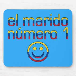 El Marido Número 1 - Number 1 Husband in Colombian Mouse Pad