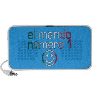 El Marido Número 1 - Number 1 Husband in Mexican Notebook Speakers