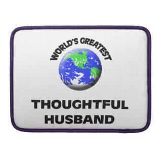 El marido pensativo más grande del mundo funda para macbooks