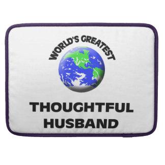 El marido pensativo más grande del mundo fundas macbook pro
