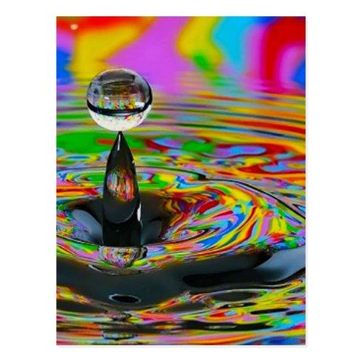 el mármol de cristal colorful_world14 remolina rea tarjetas postales