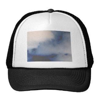 El mármol invertido de la nube tiene gusto del fon gorros bordados
