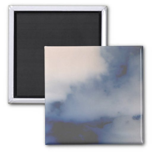 El mármol invertido de la nube tiene gusto del fon iman de frigorífico