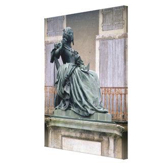 El marqués de Sevigne 1626-1696 1857-59 bronz Lona Estirada Galerías