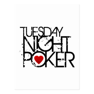 El martes por la noche póker postal