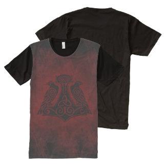 El martillo de impresión lleno Ravens la camisa