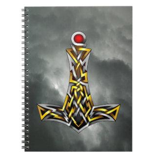 El martillo del Thor Libros De Apuntes Con Espiral