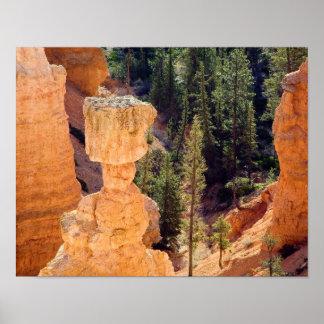 El martillo del Thor - parque nacional de Bryce, U Impresiones