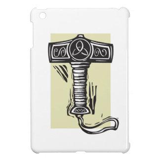 El martillo Mjolnir del Thor iPad Mini Funda
