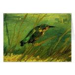 El martín pescador de Vincent van Gogh Felicitacion