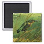 El martín pescador, Vincent van Gogh Imán De Frigorifico