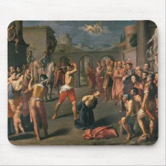 El martirio de San Pablo Alfombrillas De Ratón