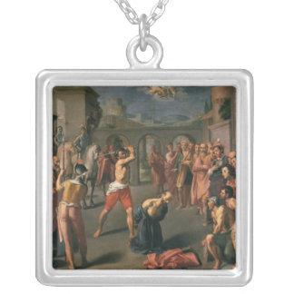 El martirio de San Pablo Colgante Cuadrado