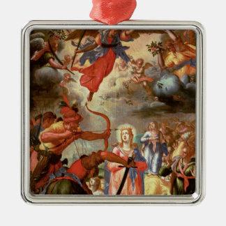El martirio de Santa Ursula, comienzo del siglo XV Ornamentos De Reyes Magos