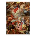 El martirio de Santa Ursula, comienzo del siglo XV Felicitaciones