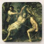 El martirio de St Bartholomew 2 Posavasos De Bebida