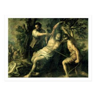El martirio de St Bartholomew 2 Tarjeta Postal
