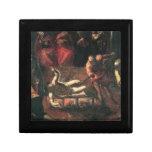 El martirio de St. Lazarus por Tintoretto Caja De Regalo
