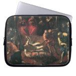 El martirio de St. Lazarus por Tintoretto Funda Computadora