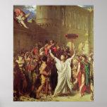 El martirio de St. Symphorien, 1834 Impresiones