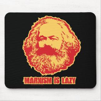 El marxismo es perezoso alfombrilla de raton