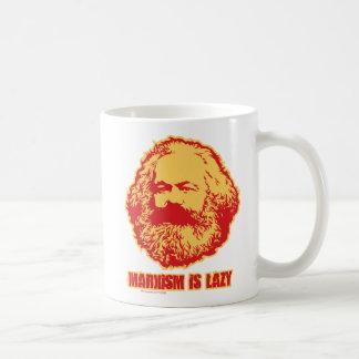 El marxismo es perezoso taza clásica