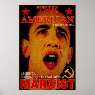 El marxista americano póster