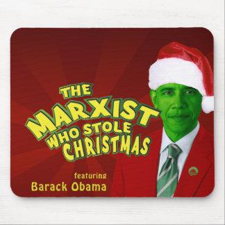 El marxista que robó navidad mouse pads
