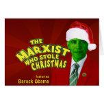El marxista que robó navidad tarjeta