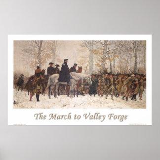 El marzo a la fragua del valle póster