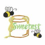 El más dulce sudadera bordada