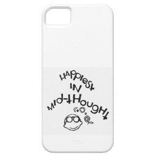 El más feliz de Mediados de-Pensamiento Funda Para iPhone SE/5/5s