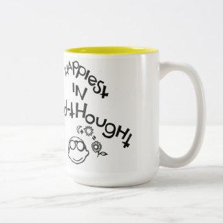 El más feliz de Mediados de-Pensamiento Tazas De Café