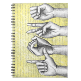 El más grande de éstos cuaderno