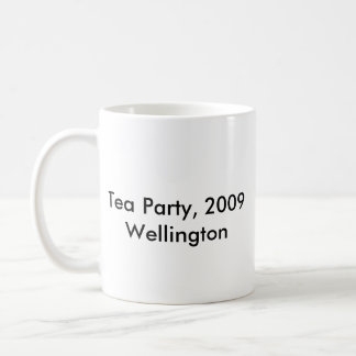 el más grande, fiesta del té, 2009Wellington Taza Básica Blanca